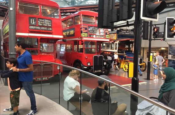 Family Day at London Transport Museum, 1 September 2018, 1pm, London
